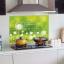 """สติ๊กเกอร์ติดครัวกันน้ำมันกระเด็น """"Green Dandelion"""" ขนาด 60 cm x 90 cm thumbnail 4"""
