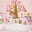 """สติ๊กเกอร์ติดผนังตกแต่งบ้าน """"ต้นไม้ Animal Tree ซาฟารี"""" ความสูง 90 cm ความยาว 130 cm thumbnail 2"""