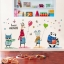 """สติ๊กเกอร์ติดผนังตกแต่งบ้าน """"Sweet Dream ซาฟารี"""" ความสูง 70 cm ความยาว 140 cm thumbnail 4"""