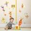 """สติ๊กเกอร์ติดผนังที่วัดส่วนสูงสำหรับเด็ก """"ที่วัดส่วนสูงโบโซ่"""" สเกลเริ่มต้น 30cm ถึง 160cm thumbnail 2"""