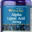 ต้านอนุมูลอิสระPuritan Pride Alpha Lipoic Acid 200 mg ขนาด 100 Capsule thumbnail 1
