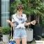 เสื้อเชิ้ตใบไม้แขนสั้น ผ้าป่านเกาหลี thumbnail 15