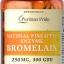 สับปะรดช่วยย่อยอาหาร Puritan's Pride Bromelain 250 mg 300 GDU/gram 120 เม็ด thumbnail 1