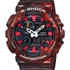 Casio G-Shock GAX-100MB-4A G-Lide Red Watch รุ่น GAX-100MB-4A