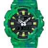 Casio G-Shock GAX-100MB-3A G-Lide Green Watch รุ่น GAX-100MB-3A