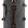 TR01-Gray กระเป๋าเป้เดินทาง ผู้ชาย สีเทา