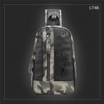 LT48 กระเป๋าสะพายไหล่ กระเป๋าคาดอก หนัง PU ลายพรางทหาร