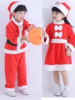ชุดคอสเพลย์เด็กแฟชั่น แนวชุดคริสต์มาส ซานตาครอสเด็ก