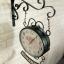 นาฬิกาติดผนัง Vintage รุ่น Welcome ดำ thumbnail 1