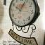 นาฬิกาติดผนัง Vintage รุ่น Welcome ดำ thumbnail 3