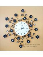 นาฬิกาติดผนัง รุ่นดอกไม้เกลียวเล็ก