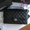 Chanel classic flap jumbo สีดำ งานHiend Original