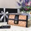 Chanel wallet เบจ งานHiend Original