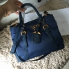 Prada Nylon bag สีน้ำเงิน งานHiend Original