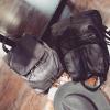 BG117 กระเป๋าแฟชั่น กระเป๋าสะพาย เป้ แต่งหมุด งานเกรดเอ สไตล์เกาหลี