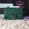 Chanel Classic Flap mini สีเขียว งานHiend Original