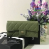 Chanel wallet สีเขียว งานHiend Original