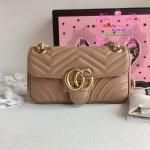 Gucci GG Marmont mini shoulder bag สีน้ำตาล งานHiend 1:1