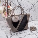 กระเป๋า Fashion สีเทา งานเกาหลี