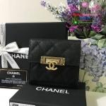 Chanel wallet สีดำ งานHiend Original