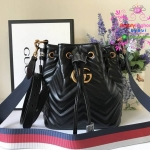 Gucci GG Marmont Quilted Bucket สีดำ งานHiend 1:1