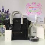 Celine Luggage nano สีดำ งานHiend Original