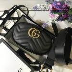 Gucci GG Marmont Mini Matelas สีดำ งานHiend Original