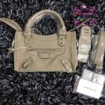 Balenciaga Edge mini City Bag สีเทา งานHiend 1:1