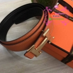 Hermes belt สีส้ม งานHiend 1:1