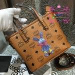กระเป๋า MCM Mini Anya Top Zip Shopper สีน้ำตาล งานHiend Original