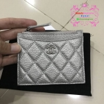 Chanel wallet สีเงิน งานHiend Original