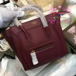 Celine Luggage nano สีแดงเลือดนก งานHiend
