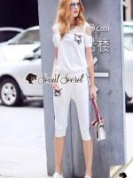 Seoul Secret Say's... Sequinny Bird Furn Sporty Set