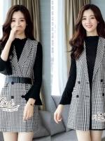 Aris Code BLAZER &Mini dress + belt