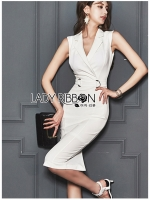 🎀 Lady Ribbon's Made 🎀 Lady Sara Smart Chic Clean White Suit Dress