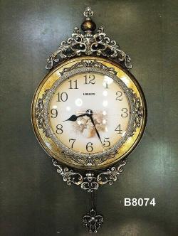 นาฬิกาแขวนผนังดีไซน์โรมัน รุ่นมงกุฎสวยงามมาก