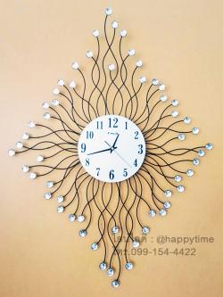 นาฬิกาติดผนัง Modern รุ่นรากไม้