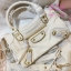 Balenciaga Edge mini City Bag สีขาวครีม งานHiend 1:1 thumbnail 2