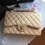 Chanel classic flap jumbo สีครีม งานHiend Original thumbnail 1
