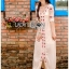 Lady Ribbon's Made Lady Spencer Casual Flower Embroidered Crochet Maxi Dress thumbnail 1