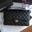 Chanel classic flap jumbo สีดำ งานHiend Original thumbnail 1