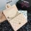 Chanel Classic Flap mini(Square) สีชมพูนู๊ด งานHiend 1:1 thumbnail 8