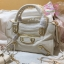 Balenciaga Edge mini City Bag สีขาวครีม งานHiend 1:1 thumbnail 3