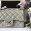 Chanel Classic Flap mini สีเทา งานHiend Original thumbnail 2