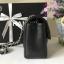 Chanel Classic Flap mini chevron สีดำ งานHiend Original thumbnail 2