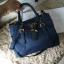 Prada Nylon bag สีน้ำเงิน งานHiend Original thumbnail 1