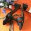 รองเท้าHermes สีดำ งานHiend 1:1 thumbnail 2