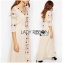 Lady Ribbon's Made Lady Spencer Casual Flower Embroidered Crochet Maxi Dress thumbnail 5