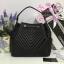 Chanel Chevron Chain Buckle Drawstring Bag สีดำ งานHiend Original thumbnail 2