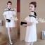 Aris Code Lovely Dress White Bow Tie thumbnail 7